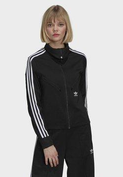 adidas Originals - ORIGINALS ADICOLOR PRIMEBLUE TRACK TOP SLIM - Trainingsjacke - black