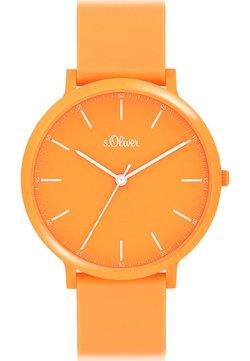 s.Oliver - S.OLIVER UNISEX-UHREN ANALOG QUARZ - Uhr - orange