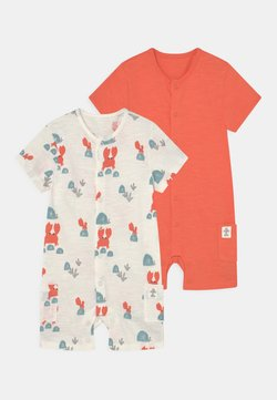 Marks & Spencer London - BABY CRAB 2 PACK - Tuta jumpsuit - ivory