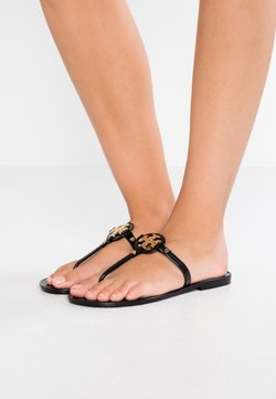 Tory Burch - MINI MILLER FLAT THONG - Varvassandaalit - perfect black