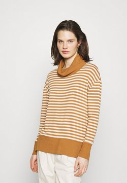 GAP - COWL - Strickpullover - brown
