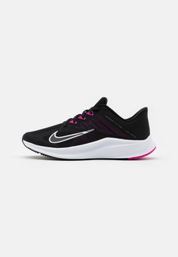 Nike Performance - QUEST 3 - Zapatillas de running neutras - black/metallic cool grey/dark smoke grey