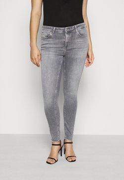 ONLY Carmakoma - CARWILLY LIFE RAW - Jeans Skinny - grey denim