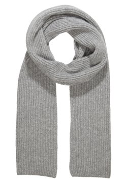 Johnstons of Elgin - RIBBED CASHMERE SCARF - Scarf - grey