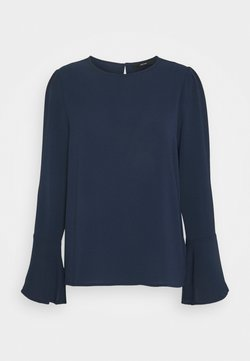 Vero Moda Tall - VMSAGA BELL SLEEVE - Blouse - navy blazer