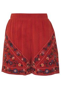YAS - YASCHELLA FEST - Shorts - red ochre