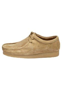 Next - STONE WALLABEE - Sznurowane obuwie sportowe - beige