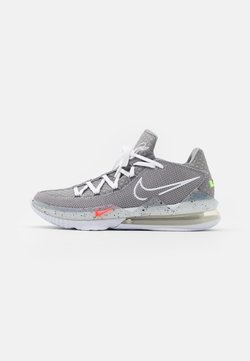 Nike Performance - LEBRON XVII LOW - Zapatillas de baloncesto - particle grey/white/light smoke grey/black/multicolor
