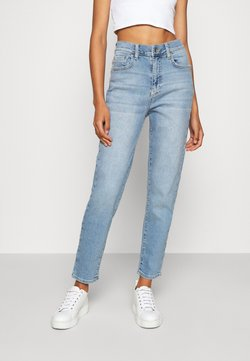 Gina Tricot - COMFY MOM - Relaxed fit -farkut - sky blue