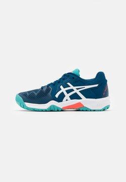 ASICS - GEL-RESOLUTION 8 UNISEX - Tennisschoenen voor alle ondergronden - mako blue/white