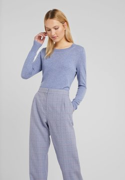 J.CREW - LAYLA CREW - Neule - heather river