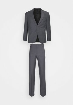 Tommy Hilfiger Tailored - FLEX SLIM FIT SUIT - Garnitur - grey