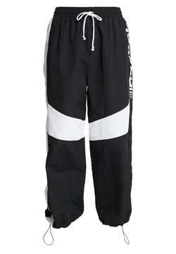 Reebok - MYT SPORT WIDE LEG PANTS - Jogginghose - black