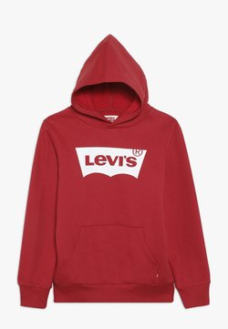Levi's® - BATWING SCREENPRINT HOODIE - Kapuzenpullover - red/white
