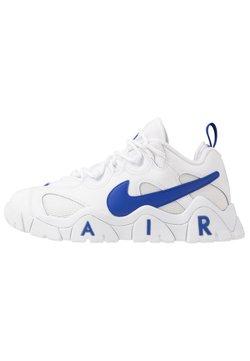 Nike Sportswear - AIR BARRAGE - Trainers - white/hyper blue