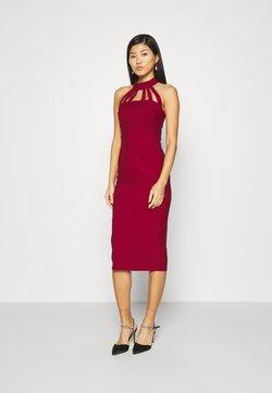 Trendyol - Cocktailkleid/festliches Kleid - burgundy