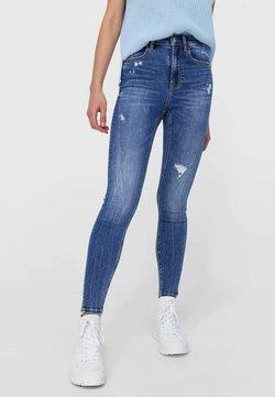 Stradivarius - Jeans Skinny Fit - light-blue denim