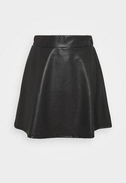 Miss Selfridge Petite - SKATER SKIRT - Minijupe - black