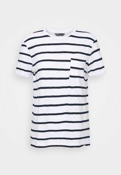 Marks & Spencer London - POCKET STRPE - T-Shirt print - white