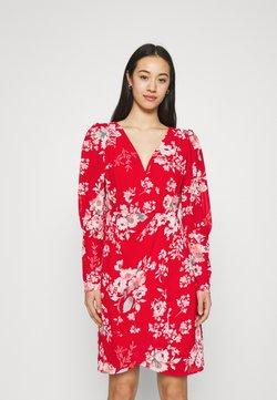 Vila - VITAGETES DRESS - Cocktailkleid/festliches Kleid - mars red