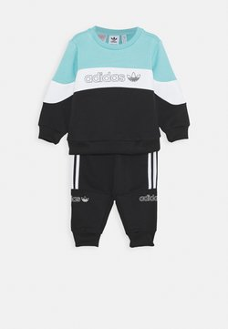 adidas Originals - CREW SET - Survêtement - blue/white/black