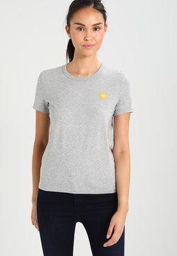 Wood Wood - UMA - T-shirts print - grey melange