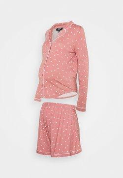 Missguided Maternity - MATERNITY NIGHT SET - Pyjama - rose