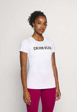 Calvin Klein Performance - LOGO - T-Shirt print - white