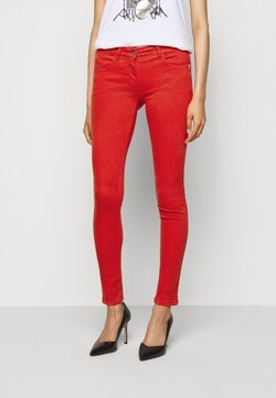 Patrizia Pepe - LOW WAIST - Jeans Skinny Fit - glam lips