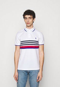 Polo Ralph Lauren - BASIC MESH - Poloshirt - white multi