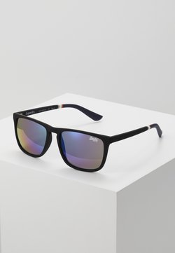 Superdry - ALUMNI - Zonnebril - rubberised black/triple fade mirror