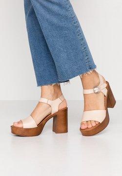 Musse & Cloud - UMA - Sandalen met hoge hak - beige