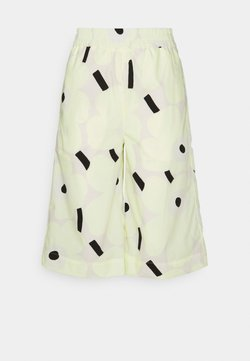 Marimekko - PAISTAA PIENI UNIKKO  - Shorts - yellow/beige/black