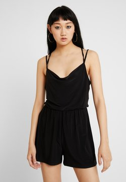 Nly by Nelly - STRAPPY BACK PLAYSUIT - Combinaison - black