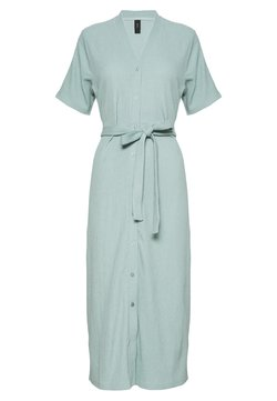 YAS - YASIRINA MIDI DRESS - Blusenkleid - gray mist
