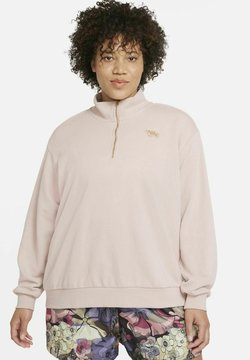 Nike Sportswear - Sweatshirt - pink oxford/metallic gold