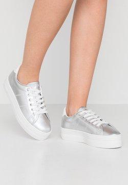 No Name - PLATO - Sneakers laag - white/silver
