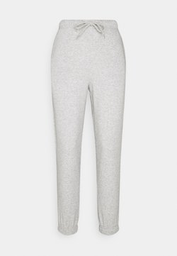 Pieces Petite - PCCHILLI PANTS - Jogginghose - light grey melange