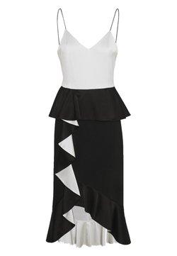 Alice + Olivia - Cocktailkleid/festliches Kleid - black/white