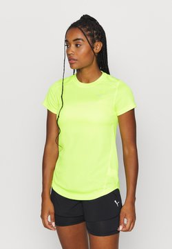 Puma - IGNITE TEE - Camiseta estampada - fizzy yellow