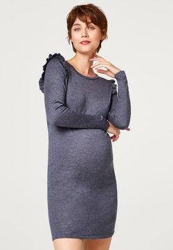 Esprit Maternity - MIT RÜSCHEN - Robe pull - night blue