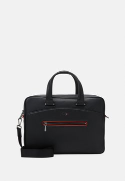 Tommy Hilfiger - COMPUTER BAG - Aktentasche - jet black