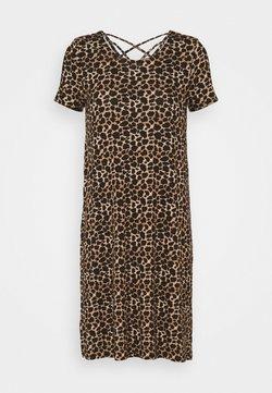 ONLY Tall - ONLBERA BACK LACEUP DRESS - Jerseykleid - black