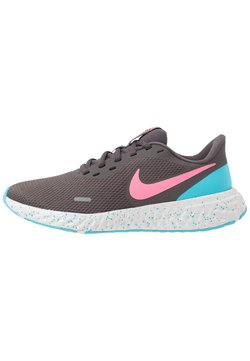 Nike Performance - REVOLUTION 5 - Zapatillas de running neutras - thunder grey/digital pink/blue fury/silver lilac/vast grey/laser orange