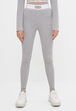 Bershka - Legging - light grey