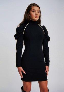 Yan Neo London - Shift dress - black