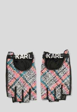 KARL LAGERFELD - STUDIO - Rękawiczki z jednym palcem - a568 pink multi