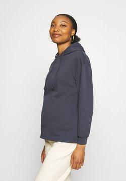 Pieces Maternity - PCMCHILLI HOODIE - Sweatshirt - blue