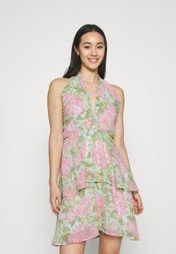 Gina Tricot - EXCLUSIVE MALVA HALTERNECK DRESS - Cocktailkleid/festliches Kleid - pink