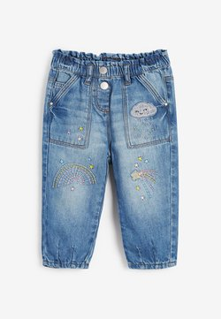 Next - Jeansy Straight Leg - blue